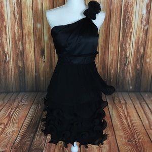 Phoebe Couture Structured OneShoulder Unique Dress